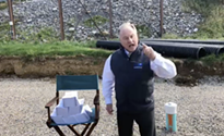 """Gov. candidate Scott Wagner tells Gov. Tom Wolf: """"I'm gonna stomp all over your face with golf spikes"""""""