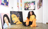 Black History Month: Pittsburgh artist Wavy Wednesday seeks help taking<i> Protect Black Women</i> on the road