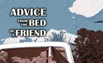 A review of poet John Stupp's <i>Advice From the Bed of a Friend</i>
