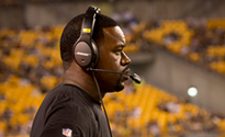 Pittsburgh police chief stands by officer in altercation with Steelers coach Joey Porter; DA wthdraws most charges