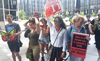 Pittsburghers protest local firm DCK Worldwide tied to detention-center construction