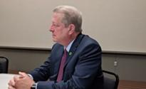 Al Gore says progress on climate change is happening despite President Trump