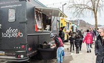 Pittsburgh's first food truck park opens for weekend service