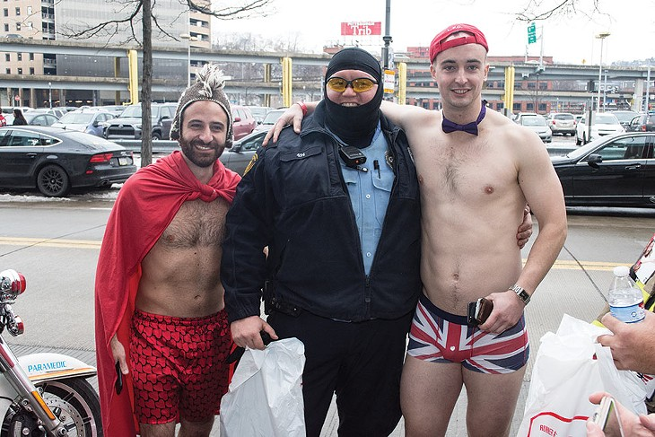 Pittsburgh's Cupid's Undie Run