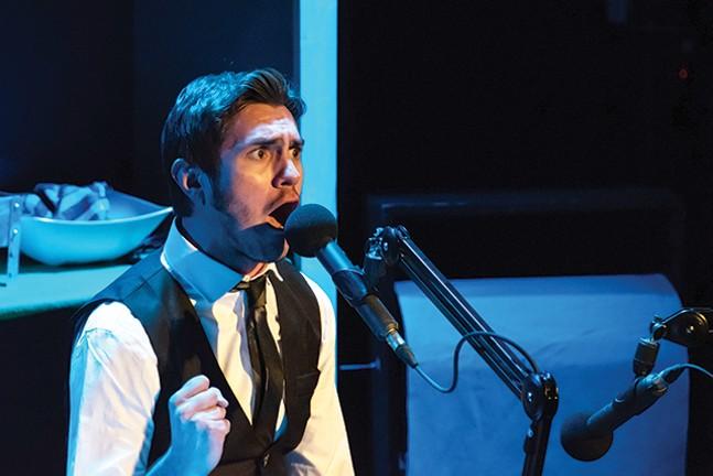 Brett Goodnack in Frankenstein