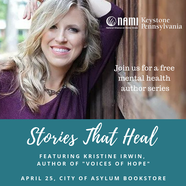 picture of Kristine Irwin and event details
