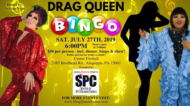 Drag Queen Bingo for SPC