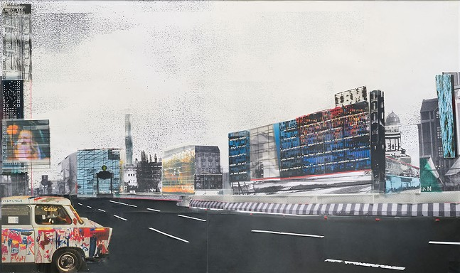 Jean Nouvel,Competition Entry: Central Berlin, 1990, Carnegie Museum of Art.
