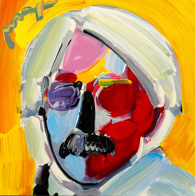 """Andy Warhol"" by Peter Max"