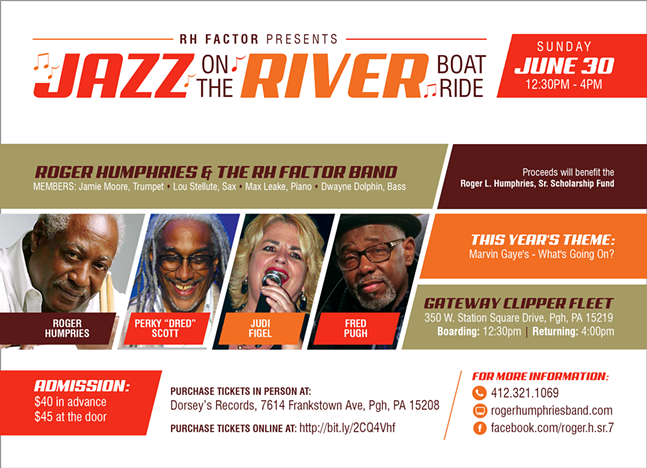 Roger Humphries Presents:  Jazz on the River