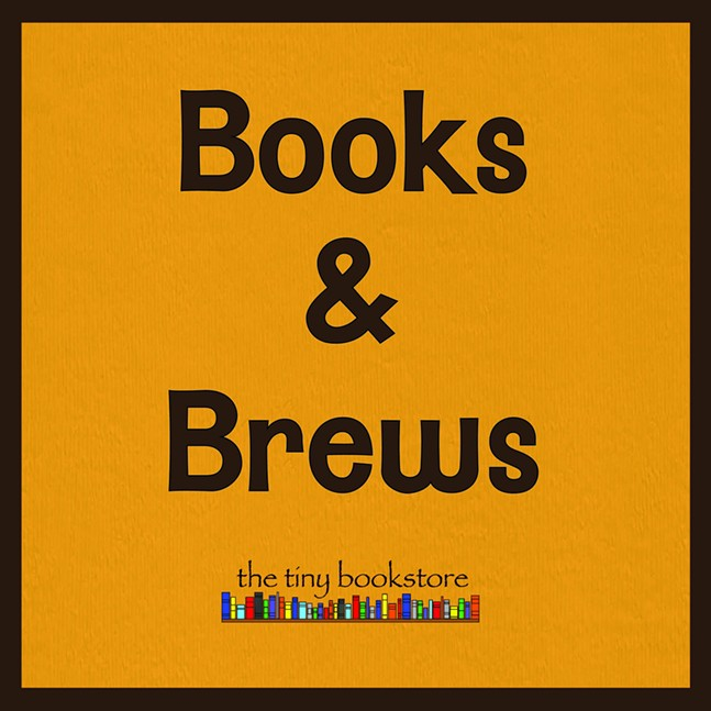 Books and Brews at The Tiny Bookstore
