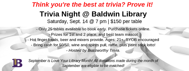 Think you're the best at trivia? Prove It!