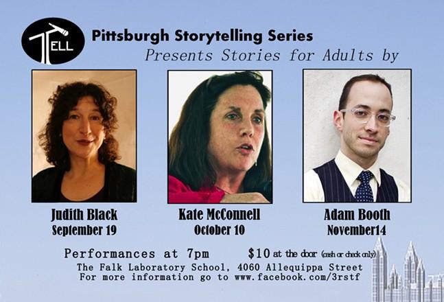 TELL: Pittsburgh Storytelling Series Opening Season