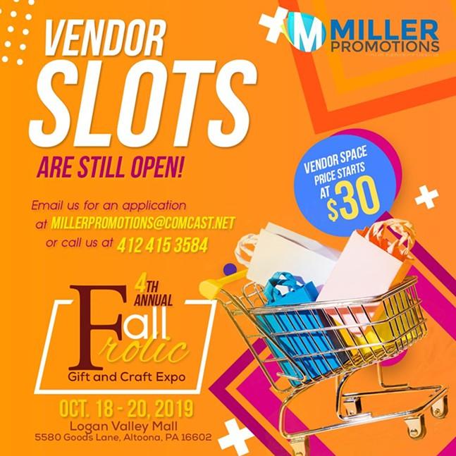 Calling all Vendors!!