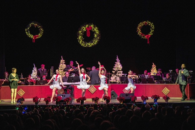 """The 2019 """"Sounds of Christmas"""" featuring The Latshaw Pops Orchestra is a family holiday tradition coming to The Palace Dec 20th"""