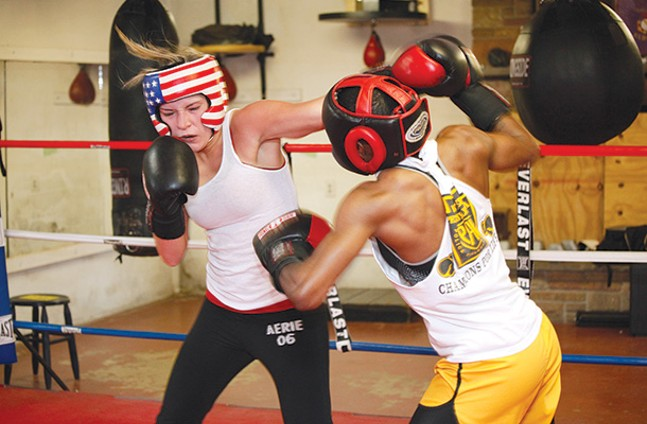 From our 2010 cover story on women's boxing