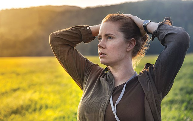 Louise Banks (Amy Adams) tries to get it right.