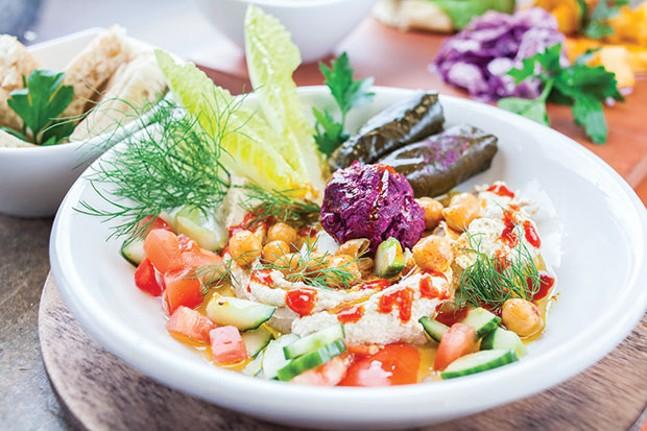 Dizengoff Hummus Platter