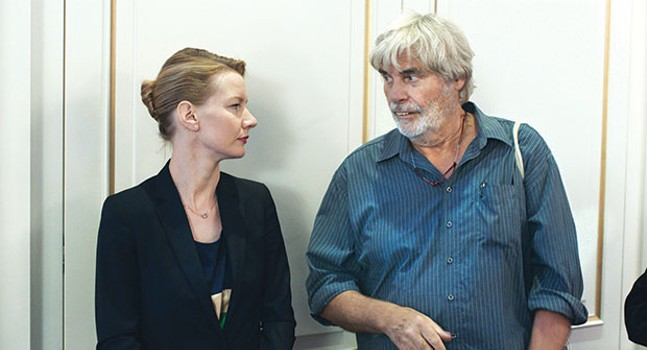Sandra Huller and Peter Simonischek, in Toni Erdmann