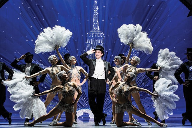 Nick Spangler and the An American in Paris touring company