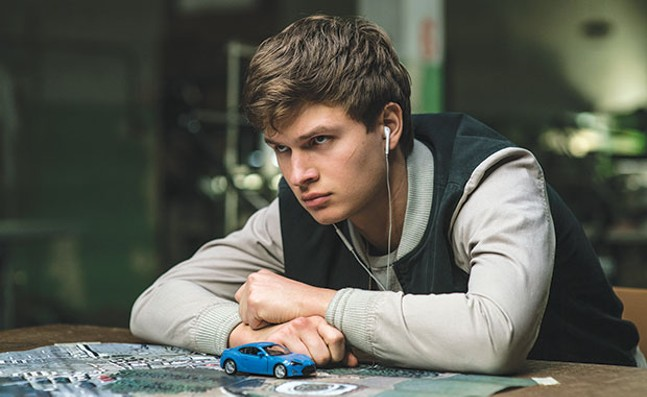 Baby, you can drive my car: Ansel Elgort
