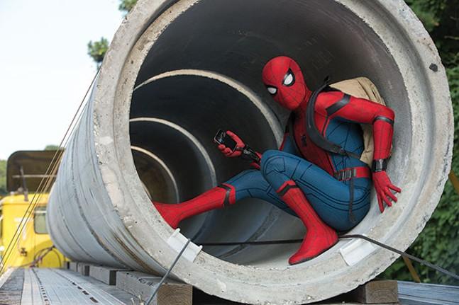 Tubular: Tom Holland as Spider-Man