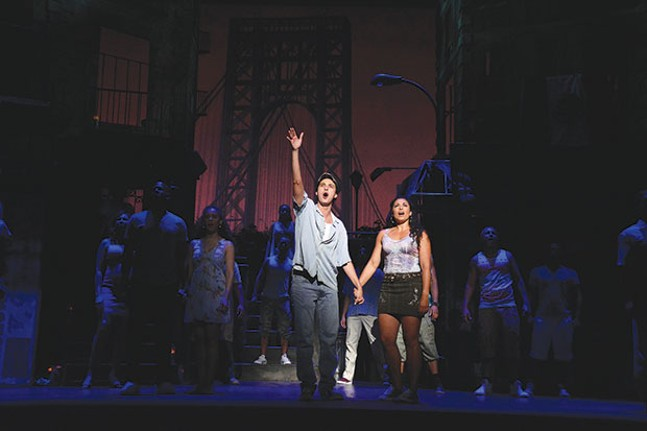Joshua Grosso and Stephanie Klemons in In the Heights at Pittsburgh CLO