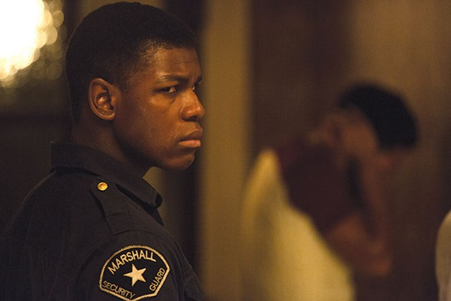 The Motor City is burning: John Boyega
