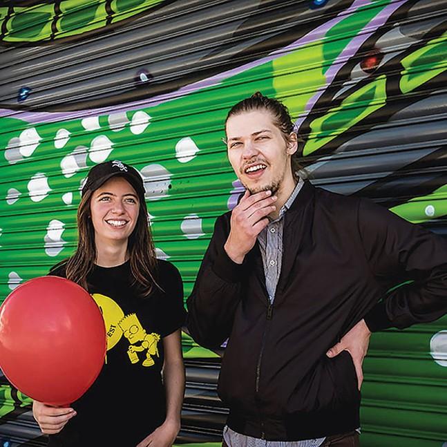 Ratboys Julia Steiner and Dave Sagan