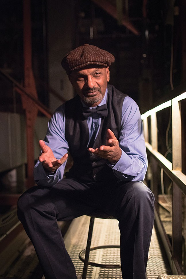 jomo ray in Bricolage Production Company's DODO, at the Carnegie Museums