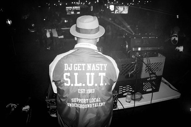DJ Get Nasty, a.k.a. TJ Harris