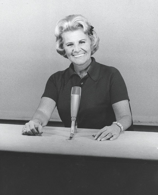 Rose Marie, during her Hollywood Squares days