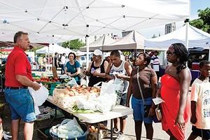 East Liberty Farmers Market, winner of Best Farmers Market - CP PHOTO BY JOHN COLOMBO