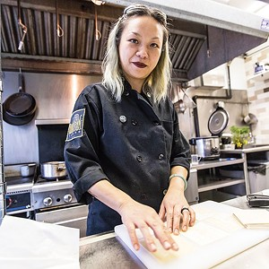 "Diana ""Dingo"" Ngo, winner of Best Chef - CP PHOTO BY XAVIER THOMAS, WINNER OF BEST LOCAL PHOTOGRAPHER"