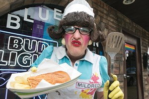Mildred the Lunch Lady - CP PHOTO BY JOHN COLOMBO