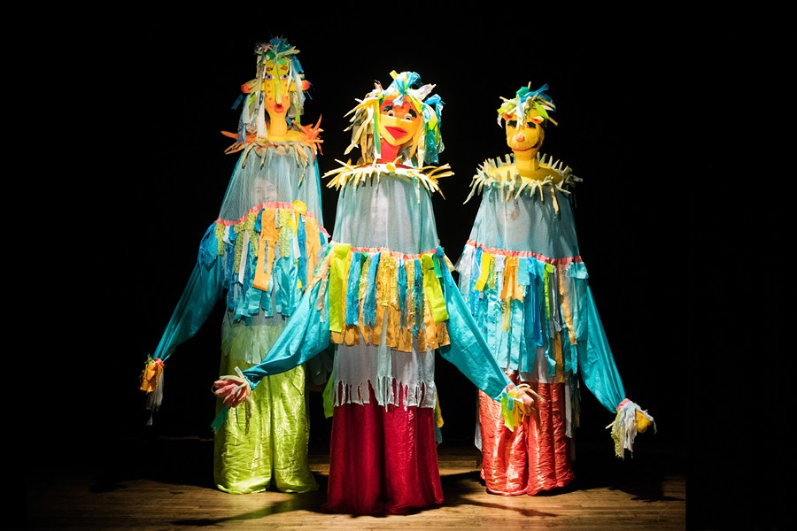 Puppets from Puppet Slam show - PHOTO COURTESY LARRY RIPPEL
