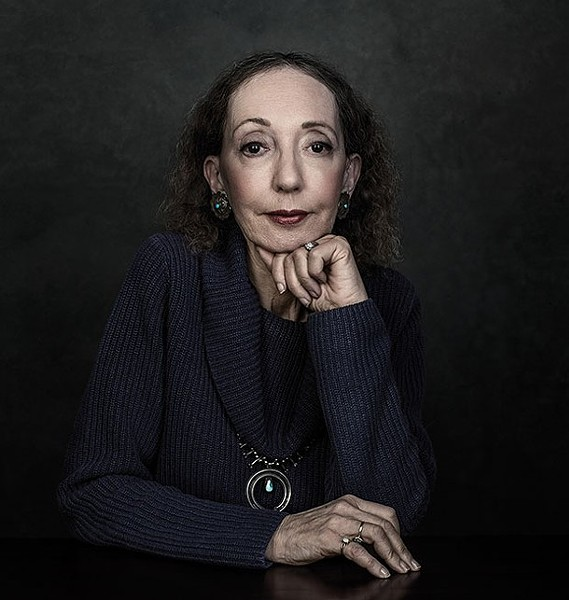 Joyce Carol Oates - PHOTO: DUSTIN COHEN