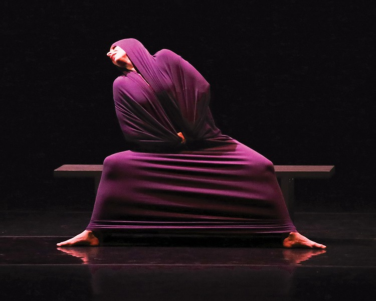 "Maria Caruso in ""Lamentation"" - PHOTO: ERIC ROSÉ"