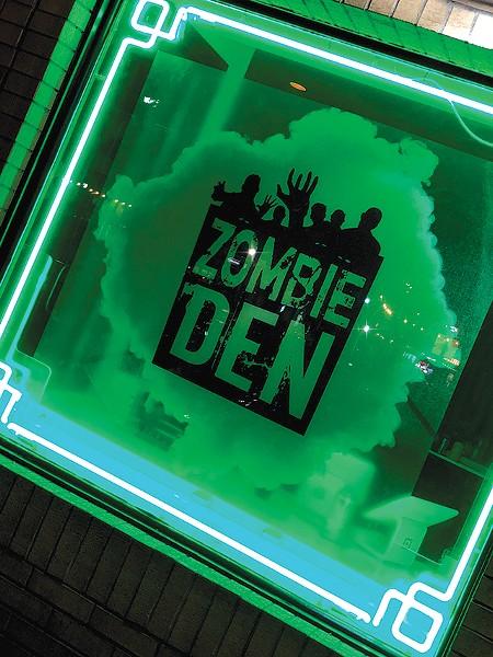 The Zombie Den - CP PHOTO: TRACY MOLYNEAUX