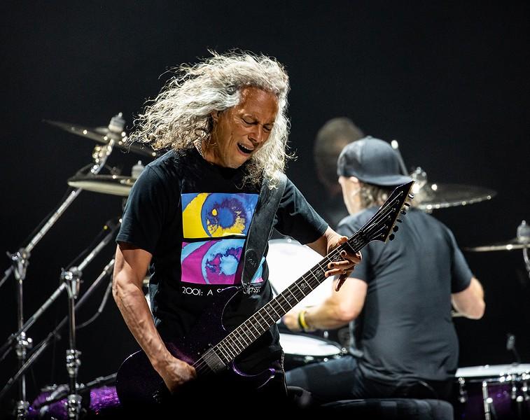 Kirk Hammett - CP PHOTO: MIKE PAPARIELLA