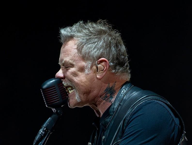 James Hetfield - CP PHOTO: MIKE PAPARIELLA