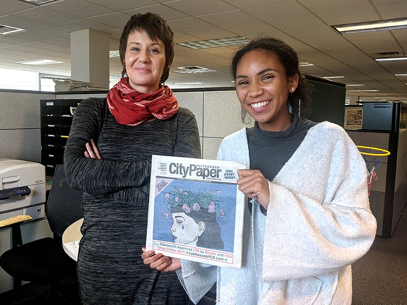 Pittsburgh City Paper writers Amanda Waltz and Jordan Snowden