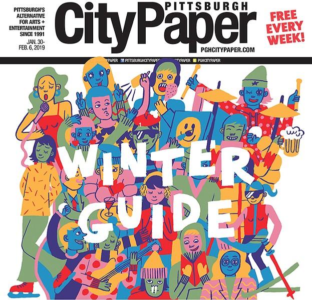Christina Lee's Winter Guide cover illustration