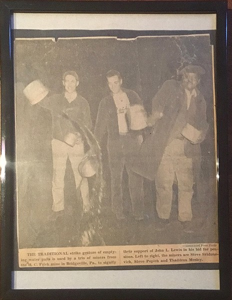 Fagan family memorabilia - COURTESY OF TERENEH IDIA