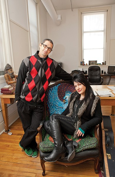 Cap: Mr. Small's Mike Speranzo and Liz Berlin - CP FILE PHOTO: HEATHER MULL
