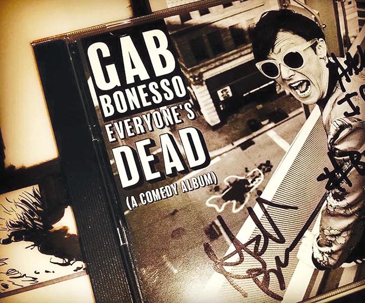 Gab Bonesso's autographed album