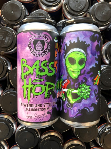 Bass Hop cans - PHOTO: MONTANA EFAW