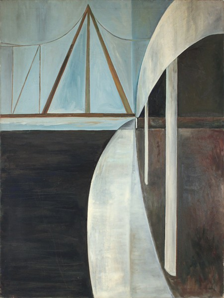 Dorothy Cantor's untitled rendering of FDR Drive (1951-52)