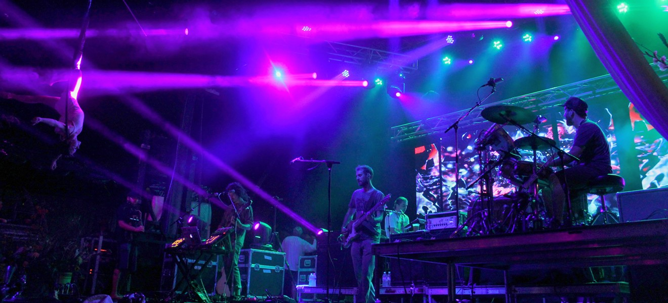 Papadosio at the 2013 Rootwire Transformational Arts Festival in Logan, Ohio - RYAN SMITH