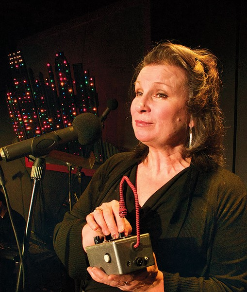 Sheila McKenna in Yinz'r Scrooged, at Bricolage - PHOTO COURTESY OF TAMI DIXON